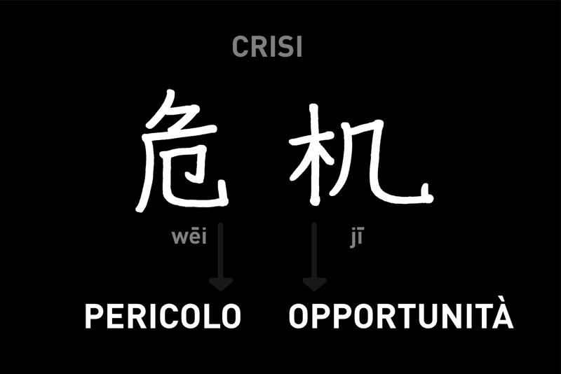 ideogramma Crisi-